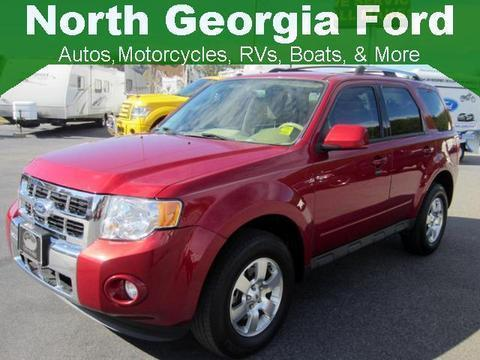 2012 Ford Escape Limited SUV for sale in Blue Ridge for $17,643 with 64,979 miles.