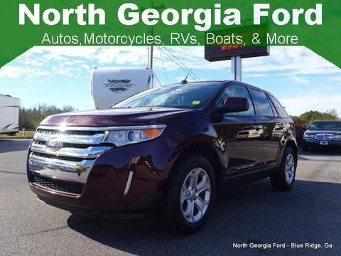 2011 Ford Edge SEL SUV for sale in Blue Ridge for $20,987 with 49,251 miles.