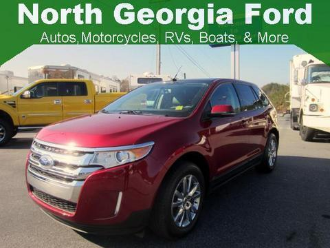 2013 Ford Edge SEL SUV for sale in Blue Ridge for $26,681 with 21,736 miles.