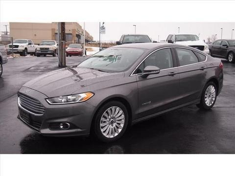 2013 Ford Fusion Hybrid SE Hybrid Sedan for sale in Chickasha for $22,995 with 24,891 miles.