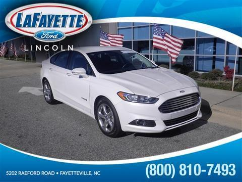 2013 Ford Fusion Hybrid SE Hybrid Sedan for sale in Fayetteville for $20,981 with 34,515 miles.
