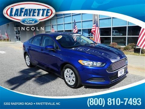2013 Ford Fusion S Sedan for sale in Fayetteville for $17,021 with 27,636 miles.