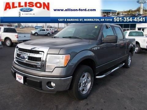 2013 Ford F150 Crew Cab Pickup for sale in Morrilton for $28,680 with 12,963 miles.