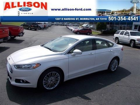 2013 Ford Fusion SE Sedan for sale in Morrilton for $19,900 with 32,078 miles.