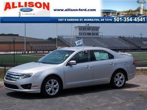 2012 Ford Fusion SE Sedan for sale in Morrilton for $16,900 with 18,236 miles