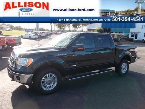 2012 Ford F150 Lariat Crew Cab Pickup for sale in Morrilton for $34,977 with 34,161 miles.