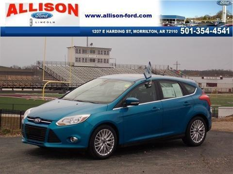 2012 Ford Focus SEL Hatchback for sale in Morrilton for $14,900 with 35,134 miles.