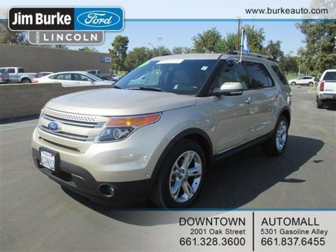 2011 Ford Explorer Limited SUV for sale in Bakersfield for $30,823 with 29,378 miles.