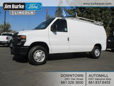 2013 Ford E150 Cargo Van for sale in Bakersfield for $20,849 with 15,770 miles.