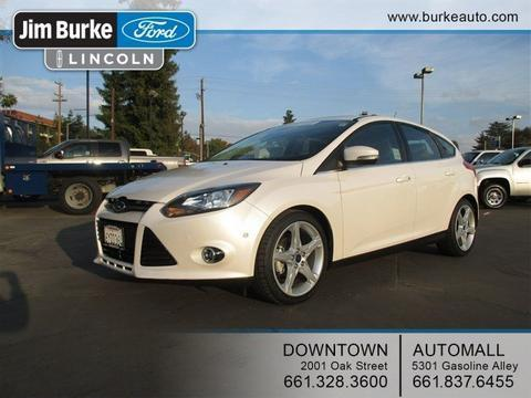 2013 Ford Focus Titanium Hatchback for sale in Bakersfield for $21,240 with 20,490 miles.