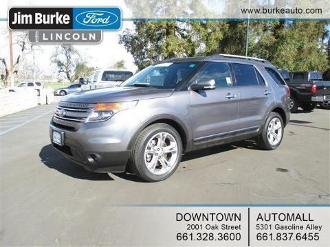 2014 Ford Explorer Limited SUV for sale in Bakersfield for $31,833 with 31,226 miles.