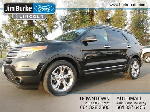 2011 Ford Explorer Limited SUV for sale in Bakersfield for $29,590 with 43,166 miles.