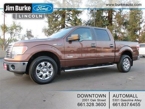 2011 Ford F150 Crew Cab Pickup for sale in Bakersfield for $24,987 with 55,727 miles.