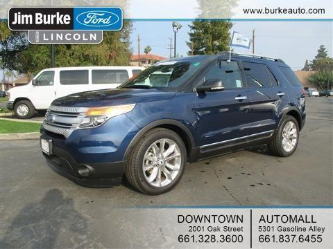 2012 Ford Explorer XLT SUV for sale in Bakersfield for $26,831 with 36,624 miles.