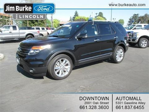2013 Ford Explorer Limited SUV for sale in Bakersfield for $37,985 with 22,833 miles