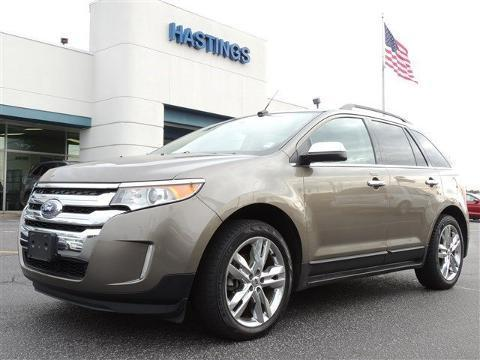 2013 Ford Edge Limited SUV for sale in Greenville for $25,995 with 55,868 miles.