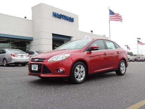 2012 Ford Focus SEL Sedan for sale in Greenville for $15,495 with 40,671 miles