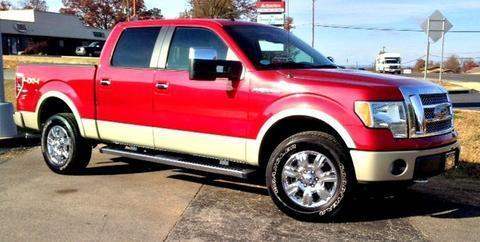 2010 Ford F150 Lariat Crew Cab Pickup for sale in Berryville for $30,963 with 37,061 miles.