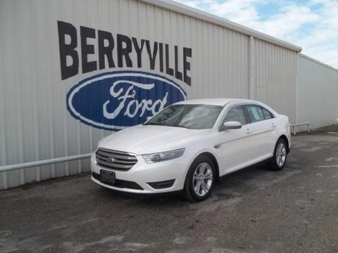 2013 Ford Taurus SEL Sedan for sale in Berryville for $18,993 with 27,590 miles.