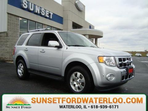 2011 Ford Escape Limited SUV for sale in Waterloo for $17,370 with 30,732 miles.