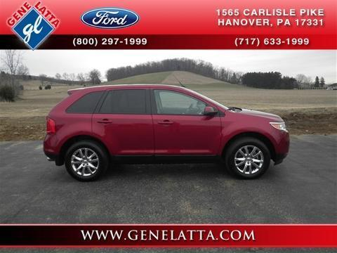 2013 Ford Edge SEL SUV for sale in Hanover for $29,985 with 8,300 miles
