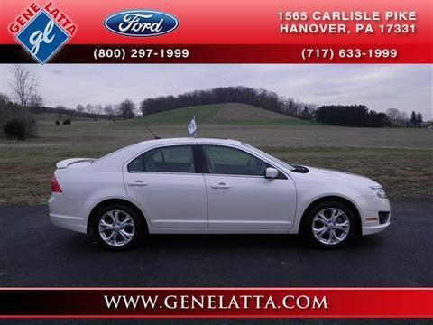 2012 Ford Fusion SE Sedan for sale in Hanover for $15,935 with 40,525 miles.