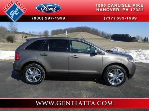 2013 Ford Edge SEL SUV for sale in Hanover for $29,993 with 19,684 miles