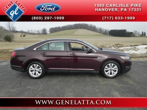 2011 Ford Taurus SEL Sedan for sale in Hanover for $19,988 with 30,411 miles
