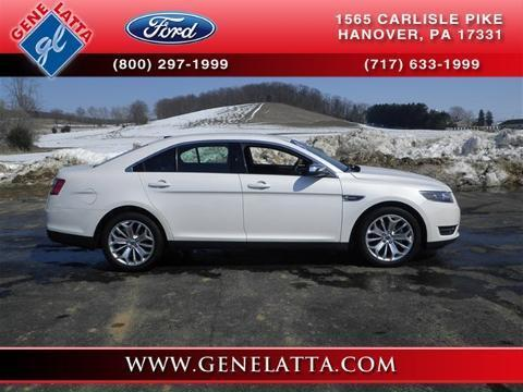 2014 Ford Taurus Limited Sedan for sale in Hanover for $27,497 with 14,957 miles