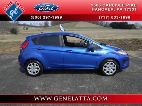 2011 Ford Fiesta SE Hatchback for sale in Hanover for $13,988 with 34,540 miles