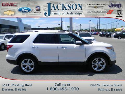 2011 Ford Explorer Limited SUV for sale in Decatur for $26,469 with 30,639 miles.