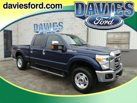 2011 Ford F250 Super Duty Crew Cab Pickup for sale in Connellsville for $34,875 with 38,637 miles