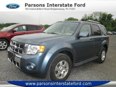 2012 Ford Escape Limited SUV for sale in Shippensburg for $22,900 with 28,021 miles