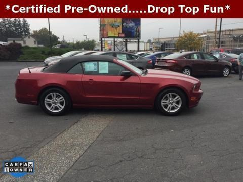 2014 Ford Mustang Convertible for sale in Carlisle for $22,477 with 14,412 miles.