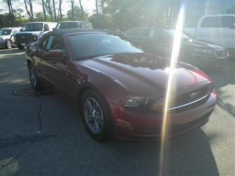 2014 Ford Mustang V6 Premium Convertible for sale in Rutherford for $23,999 with 16,652 miles.