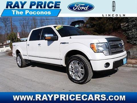 2012 Ford F150 Platinum Crew Cab Pickup for sale in Stroudsburg for $37,799 with 361 miles.