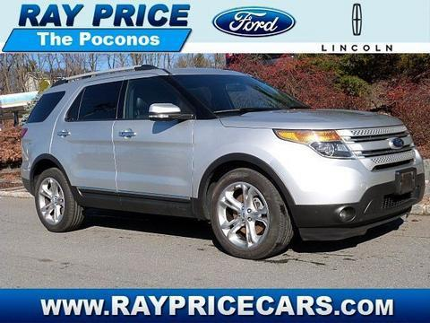 2014 Ford Explorer Limited SUV for sale in Stroudsburg for $32,990 with 36,780 miles