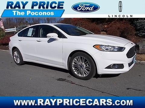 2014 Ford Fusion SE Sedan for sale in Stroudsburg for $18,989 with 21,611 miles