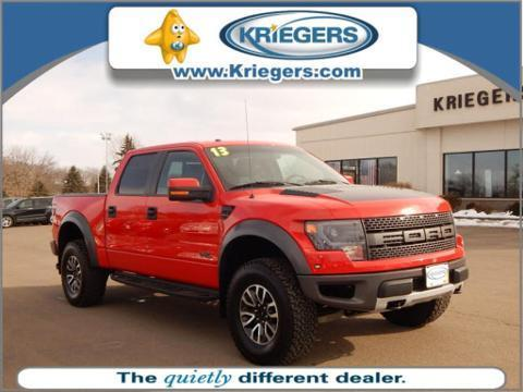 2013 Ford F150 SVT Raptor Crew Cab Pickup for sale in Muscatine for $47,590 with 48,169 miles