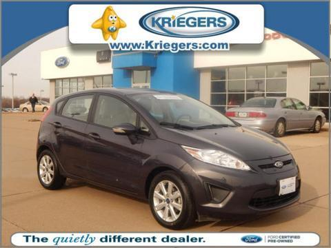 2013 Ford Fiesta SE Hatchback for sale in Muscatine for $12,986 with 3,860 miles