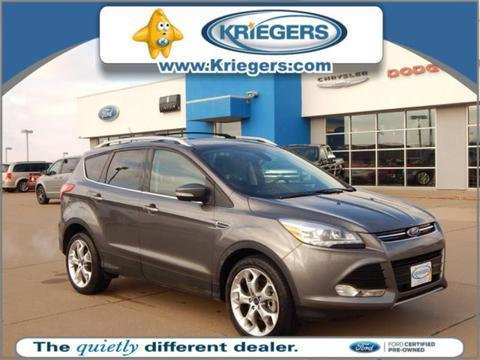 2013 Ford Escape Titanium SUV for sale in Muscatine for $25,905 with 30,198 miles.