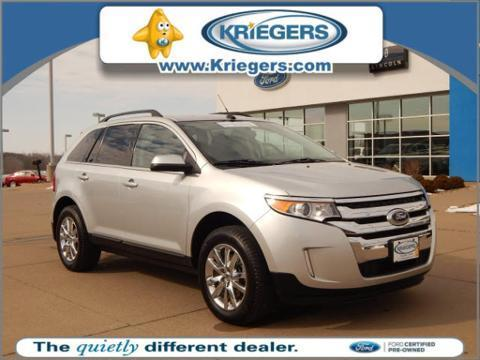 2013 Ford Edge Limited SUV for sale in Muscatine for $27,485 with 27,307 miles.
