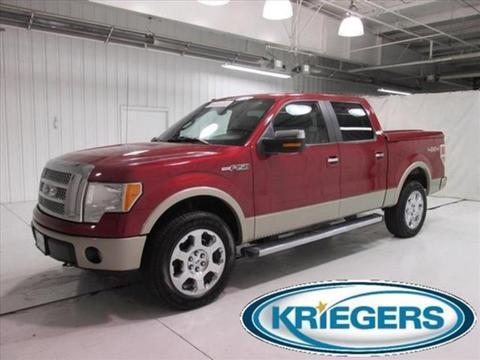 2010 Ford F150 Crew Cab Pickup for sale in Muscatine for $29,980 with 58,277 miles.