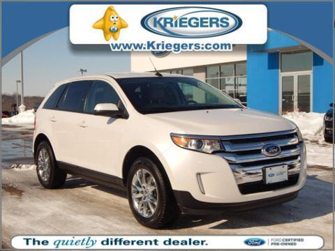 2013 Ford Edge SEL SUV for sale in Muscatine for $25,994 with 39,742 miles.