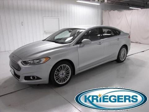 2014 Ford Fusion SE Sedan for sale in Muscatine for $19,979 with 13,505 miles.
