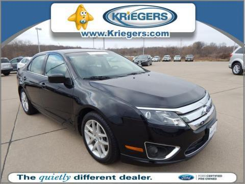 2011 Ford Fusion SEL Sedan for sale in Muscatine for $14,899 with 41,040 miles.