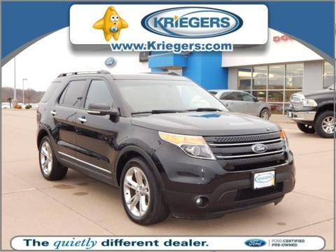 2014 Ford Explorer Limited SUV for sale in Muscatine for $34,498 with 25,724 miles.