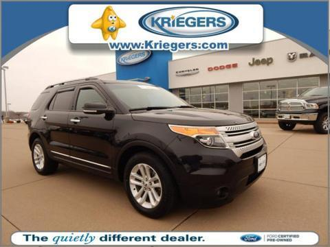 2014 Ford Explorer XLT SUV for sale in Muscatine for $29,490 with 19,077 miles.