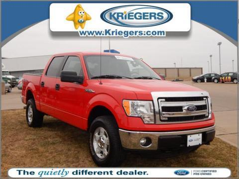 2014 Ford F150 Crew Cab Pickup for sale in Muscatine for $32,990 with 14,633 miles.