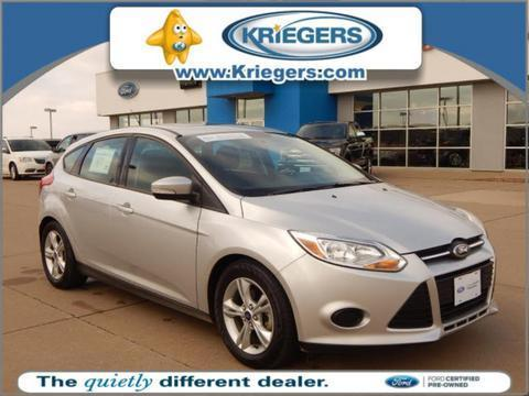 2014 Ford Focus SE Hatchback for sale in Muscatine for $13,545 with 36,298 miles